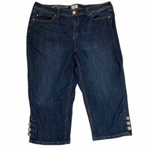 DC Jeans Capris Size 20 High Rise High Waisted